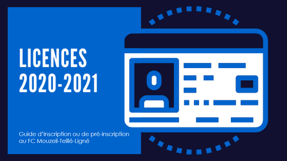 Inscription saison 2020-2021 !
